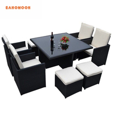 Ratan Outdoor Furniture Table and Chairs For Beaches Sofa Set