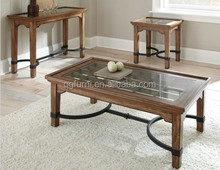 High quality glass coffee table with ISO certificate