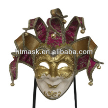 Hand Made Venice Carnival Masks Clown