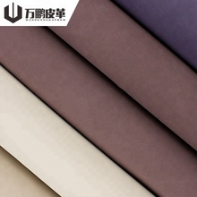 Oem New Products 0.7Mm Yangbuck Pattern Burnished Pvc Pu Leather