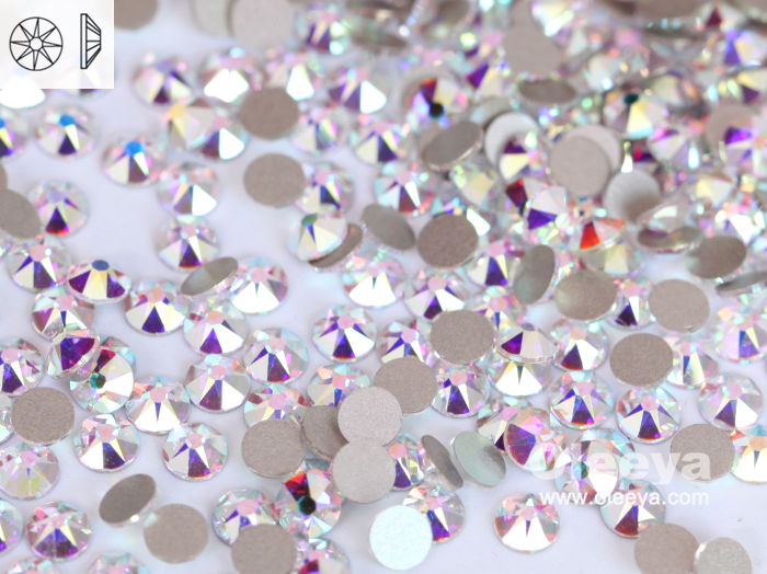 factory wholesale New 2088 cut 16 facets SS20 glass flat back premium nail art glitter rhinestones for manicure decorations