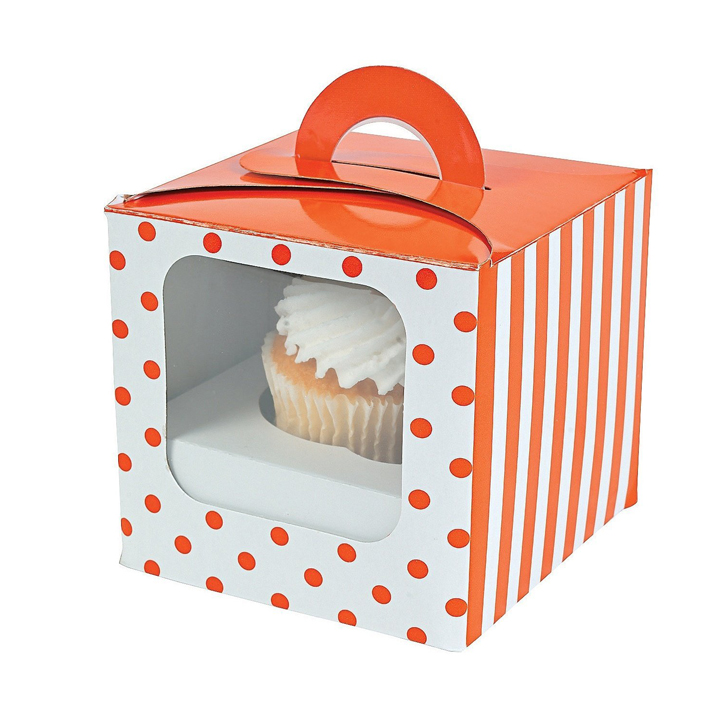 Custom Cheap Mini Cupcake Boxes and Inserts