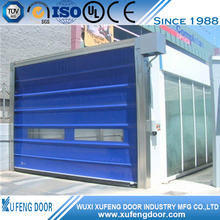 Soft Rapid Pvc Interior Rolling Door With Remote Control