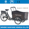 Cheap europe popular electric cargo cycle NANYANG CARGO UB9019E