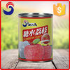 Preserved fruit canned lychee in can wholesale