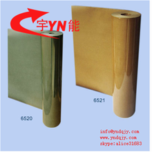 high voltage electrical insulation HYPLY - Elephantide / Polyfilm 6520 polyester film/fish paper flexible compiste material