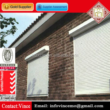 Modern Security Aluminum Roller Shutter Window