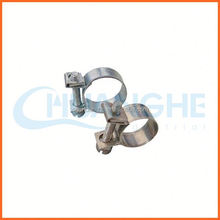 High quality 304 201 316 stainless steel material swivel structure hose pipe american type hose clamps