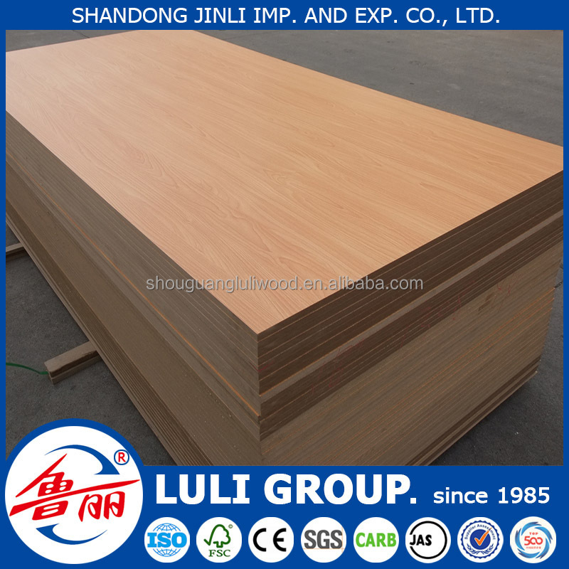 Moisture-proof plain MDF, plain MDF board, medium density fiberboard