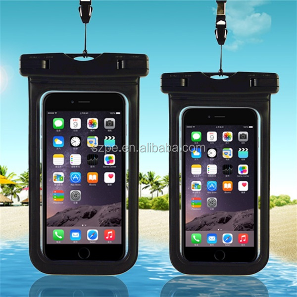 Good quality pvc Universal Waterproof Case for iPhone cellphone