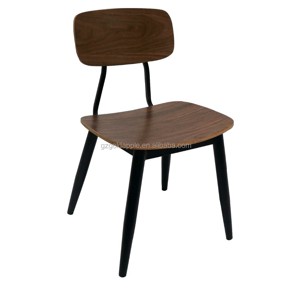 Factory Price Restaurant Furniture Metal Bentwood Chair Dining Chair For Sale