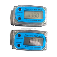 Electronic Digital Pulser Turbine Diesel Fuel Flow Meter With High Precision For Oil,Water