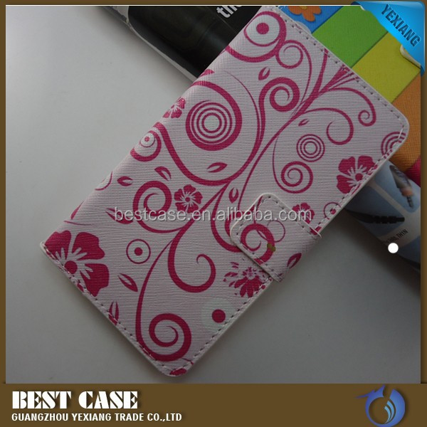 alibaba express pu leather custom design phone case for nokia 720 with card holder