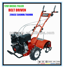 7HP Used Mini Diesel Power Pto Rotary Tiller Tillers And Cultivators