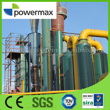 waste to energy wood pyrolysis power plant for electricity generation