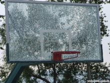 China glass manufacturer new design 12mm tempered glass for basket ball board