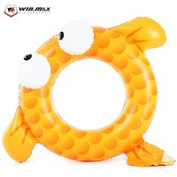 WINMAX Outdoor Goldfish Floating Ring Children Swimming Pool Seat Boat Swimming Ring For Water Sports
