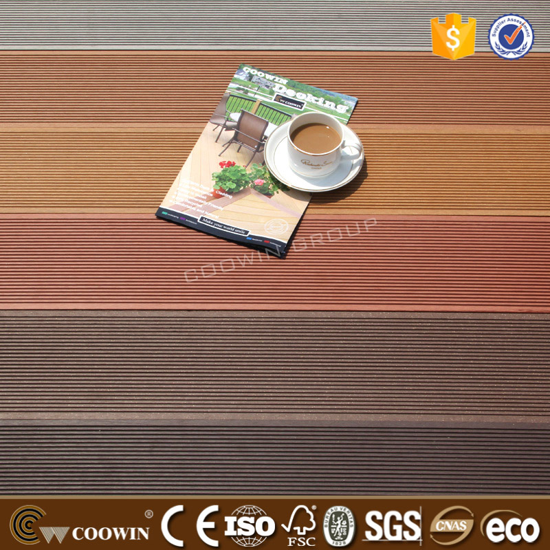 ECO friendly new building material rosewood composite front porch WPC decking