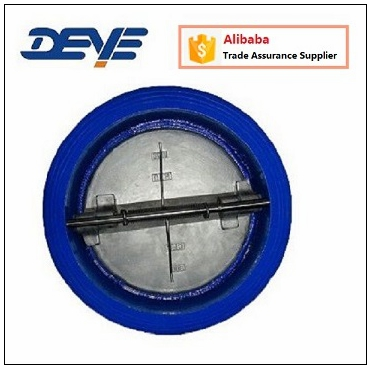 Double Disc Flat Wafer Dual Check Valve