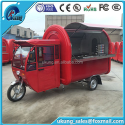 New Design Electric Food Van For Fast Food And Drinks