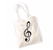 customised plain cotton tote bag with printing