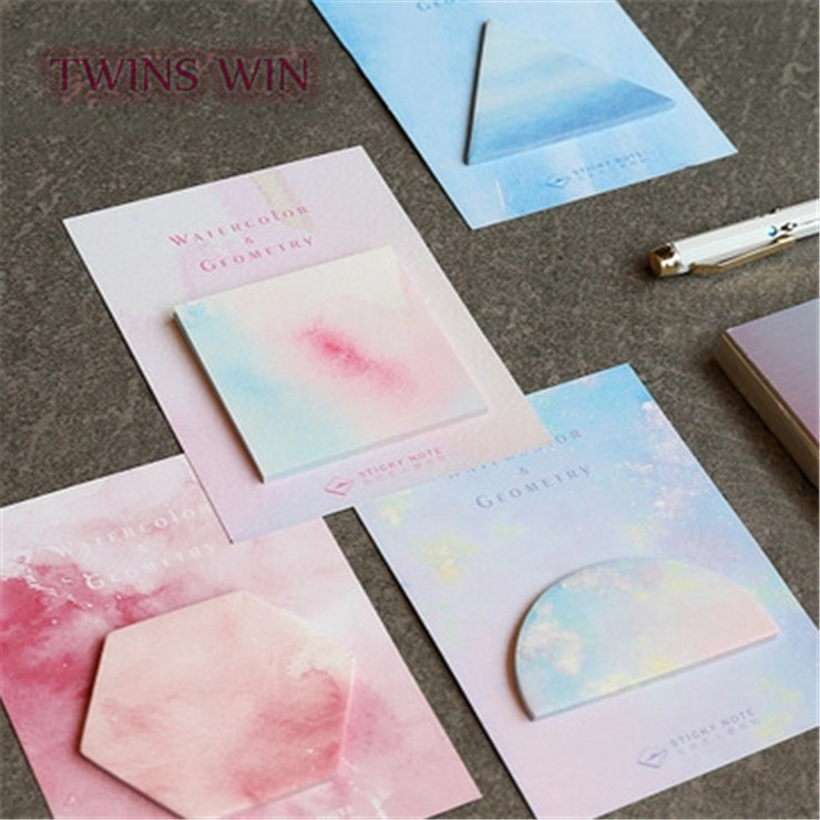 2018 China factory kawaii stationery unique sticky notes <strong>050</strong>