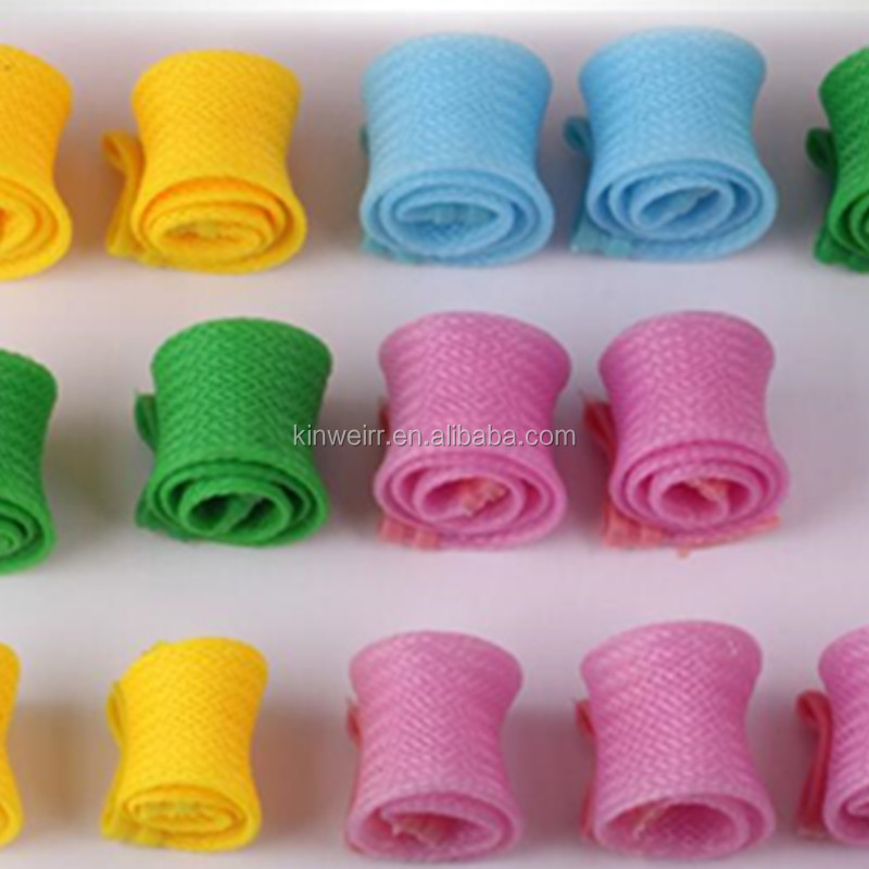 plastic Easy hair rollers curling perm rods