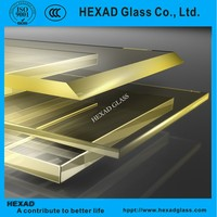 Hexad safety X-ray lead laminated glass