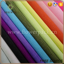 stylish exquisite floral wrapping 100% stretch crepe paper