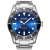 BLWRX high quality mens luxury watches diver 316l stainless steel
