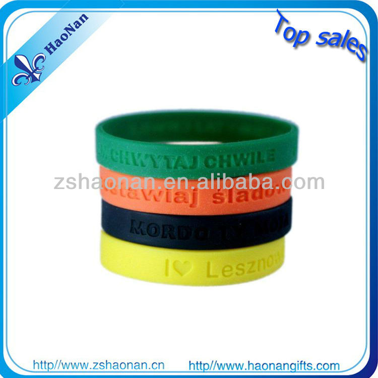 Super junior concert souvenir silicone wristband for fans