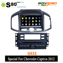 8 Inch 3G Special for Chevrolet Captiva 2012 Android car dvd player with DVD GPS 3G Wifi USB Radio Capacitive Touch