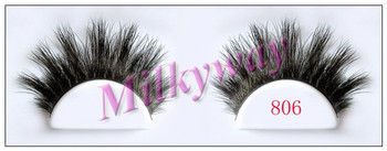 Milkyway beautiful wholesale horse false eyelashes 806