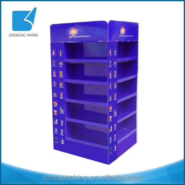 Reusable promotion cosmetic display stand ornament display rack