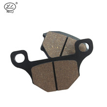 Auto motorcycle spare part brake shoe;Front brake pad for SUZUKI GN 125;Good performance brake part electric scooter spare parts