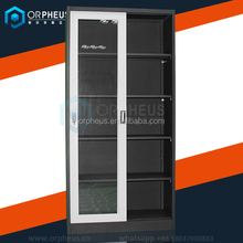 Large Project Office Cupboard Cheap Furniture Steel Cupboard Price Filing Cabinets Sliding Glass Door Metal Cupboard