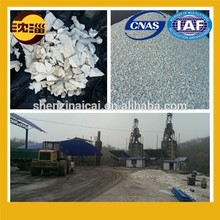 refractory raw material calcined flint clay kaolin clay
