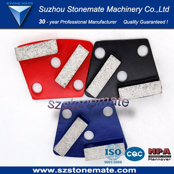 Concrete flooring grinding abrasives tools
