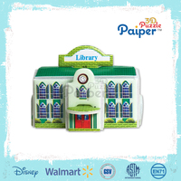 Diy Paper House 3d Cardboard Puzzle