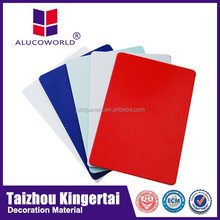 Alucoworld excellent snti-septic lightweight different thickness tectum aluminum composite panel wall panels