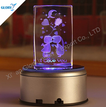 Led Base For Crystal Music Box