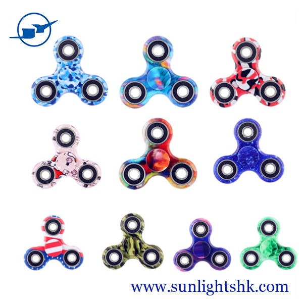 hot selling cheap promotion gifts camouflage gyro fidget spinner