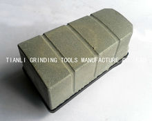 magnesite block T-140 abrasive for microcrystallized panel magnesite abrasive sectors