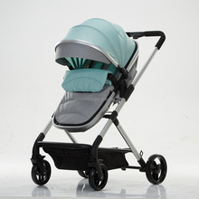 High quality baby stroller for 0-3 years old baby children Fashion design children trolly high class landscape baby buggy