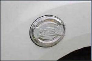 Mazda BT - 50 Chromed Fuel Tank Covers
