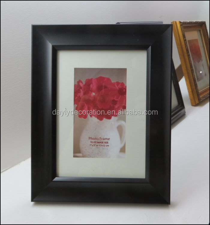 black photo frame wooden photo frame photo hot sale
