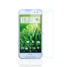 high clear cell phone tempered glass screenprotector for htc butterfly