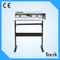 Auto contour cutting plotter / TENETH factory supply 740mm 1300mm 1600mm cutter plotter