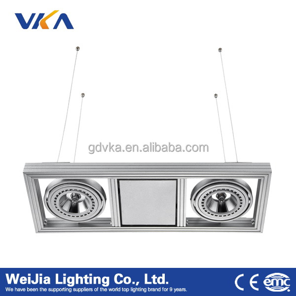 modern aluminum commercial led hanging pendant lighting for office ceiling light