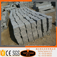 factory directly sale gray granite curbstones with low price